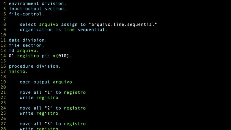 Arquivo sequencial e arquivo linear sequencial
